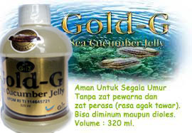Obat Herbal Jelly Gamat Gold-G